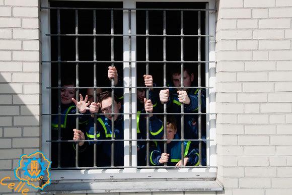 THW-Jugend Celle im Gefängnis